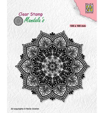 Nellie's Choice leimasin Mandala Star Flower