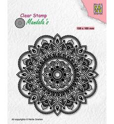 Nellie's Choice leimasin Mandala Fantasy Flower