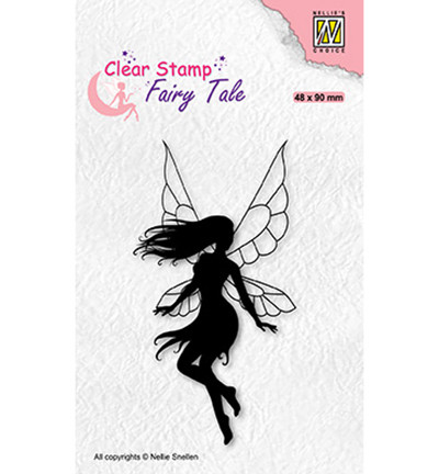 Nellie's Choice Fairy Tale leimasin Dancing Elf 1