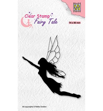 Nellie's Choice Fairy Tale leimasin Flying Elf