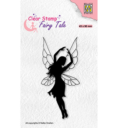 Nellie's Choice Fairy Tale leimasin Dancing Elf 2