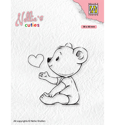 Nellie's Choice Cuties leimasin Love You Mama