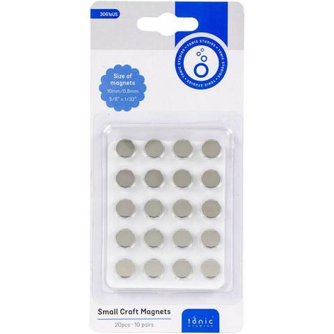 Tonic Studios Small Craft Magnets 10mm, magneetit, 10 paria