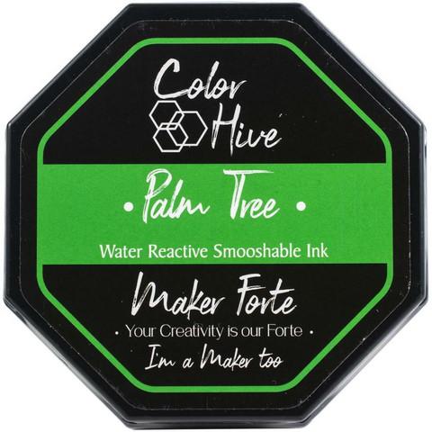 Maker Forte Color Hive -mustetyyny, sävy Palm Tree