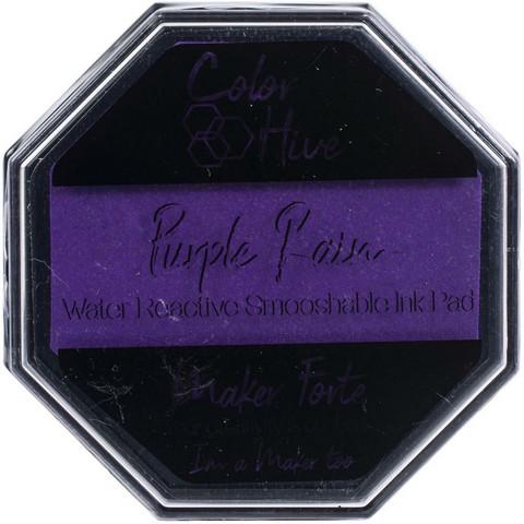 Maker Forte Color Hive -mustetyyny, sävy Purple Rain (neon)