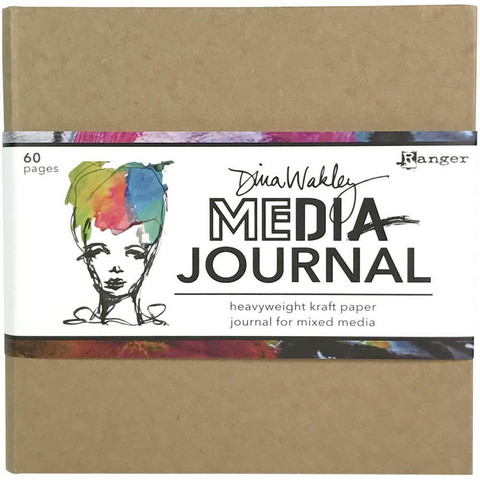 Dina Wakley Media Kraft Journal 6