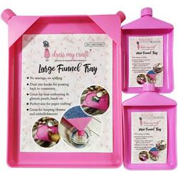 Dress My Craft Funnel Tray Combo -setti