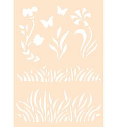 Joy! crafts sapluuna Grass and Flowers
