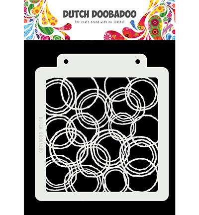 Dutch DooBaDoo sapluuna Mask Art Grunge Circles