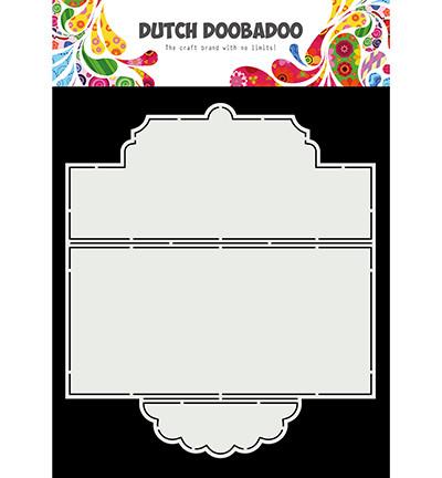 Dutch Doobadoo Slimline Tie Card -sapluuna