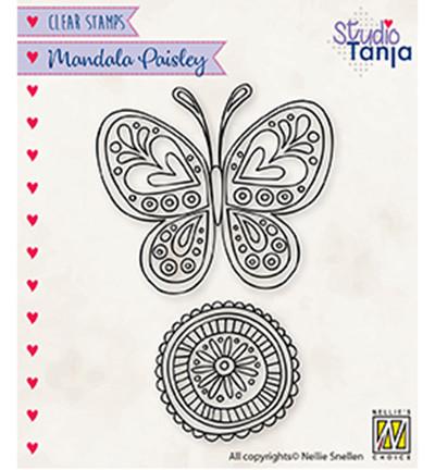 Nellie's Choice leimasin Paisley Butterfly
