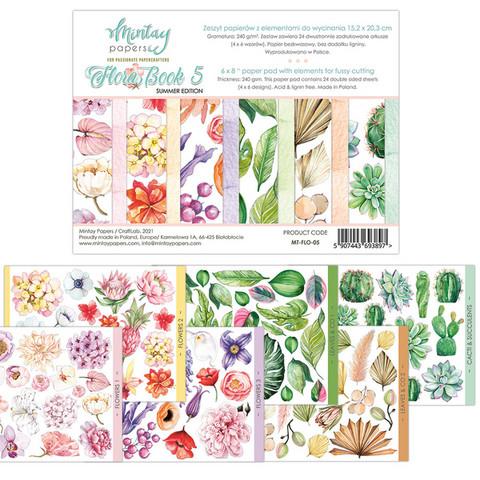 Mintay korttikuvakirja Flora Book 5