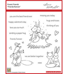 Nellie's Choice Forest Friends -leimasin Friends Forever