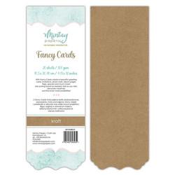 Mintay Fancy Cards -pohjat Kraft 01