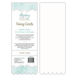 Mintay Fancy Cards -pohjat White 02