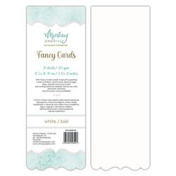 Mintay Fancy Cards -pohjat White 03