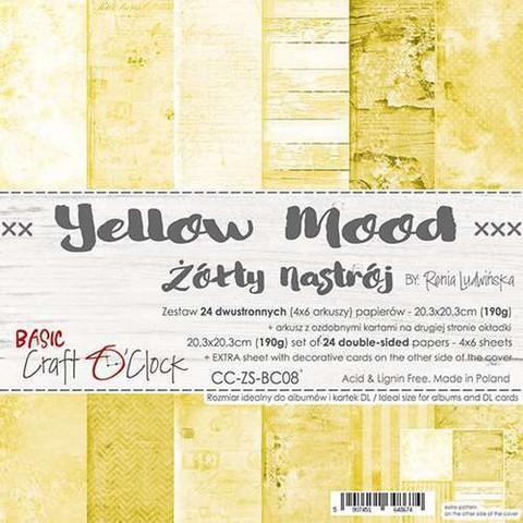Craft O'clock paperipakkaus Yellow Mood, 8
