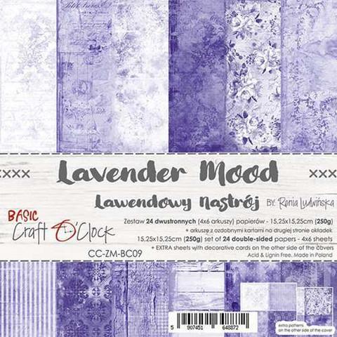 Craft O'clock paperipakkaus Lavender Mood