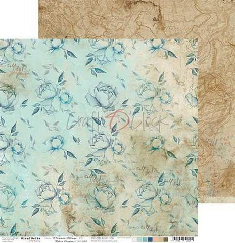 Craft O'clock skräppipaperi Ocean Deep 05
