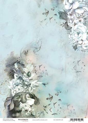 Craft O'clock riisipaperi Ocean Deep 2