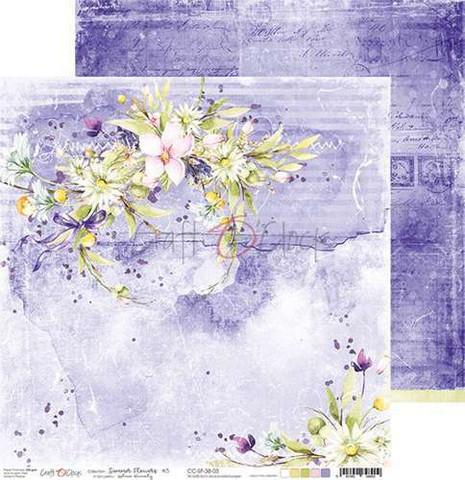 Craft O'clock skräppipaperi Summer Flowers 03