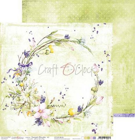 Craft O'clock skräppipaperi Summer Flowers 06