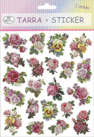 Tarra-arkki Ruusut, vintage