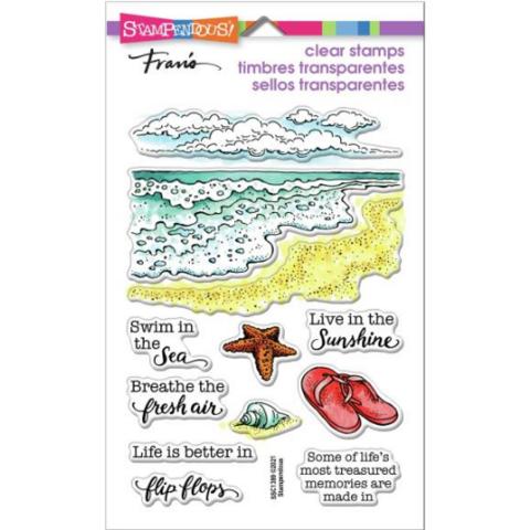 Stampendous leimasinsetti Ocean Frames