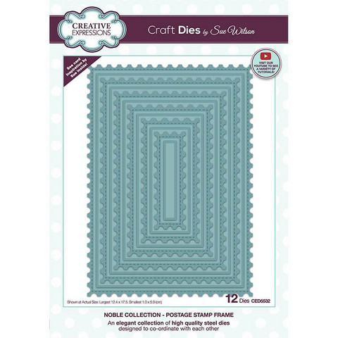 Creative Expressions stanssi Postage Stamp Frame