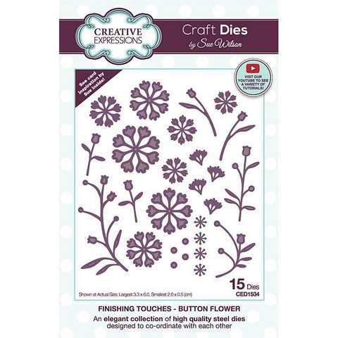 Creative Expressions stanssi Button Flower