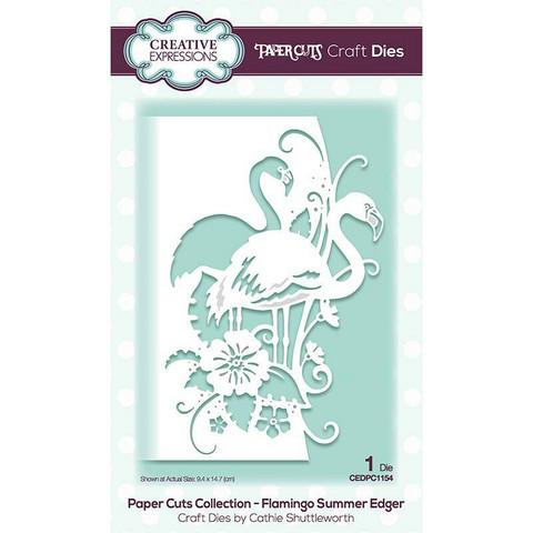 Creative Expressions stanssi Flamingo Summer Edger