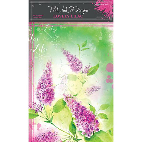 Pink Ink Designs riisipaperit Lovely Lilac