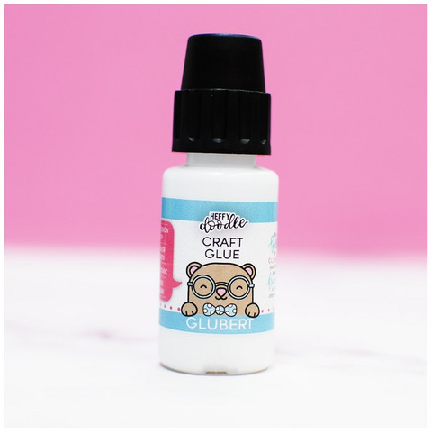 Heffy Doodle Glubert Precision -liima, 15 ml