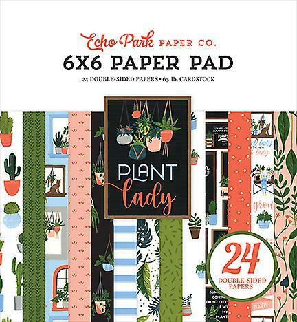 Echo Park Plant Lady -paperipakkaus