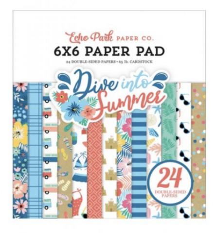 Echo Park Dive Into Summer -paperipakkaus