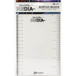 Dina Wakley Media Stamping Block -akryylipalikka