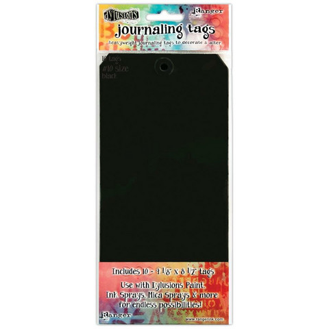 Dylusions Journaling Tags #10, 10 kpl