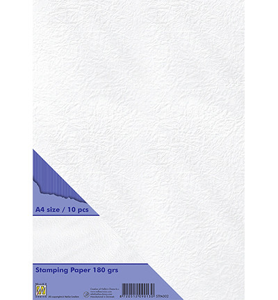 Nellie's Choice Stamping -paperi, 180 g, A4