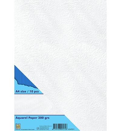 Nellie's Choice Aquarel -paperi, 200 g, A4