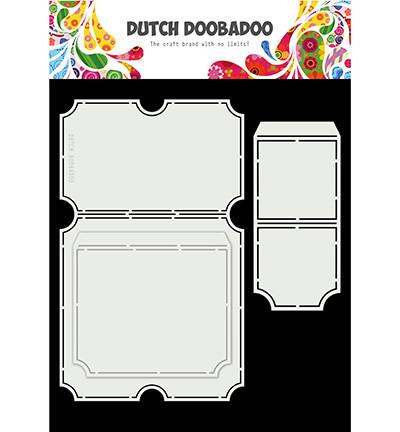 Dutch Doobadoo Card Art Tickets -sapluuna