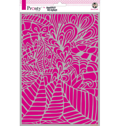 Pronty sapluuna Background Leafy, A4