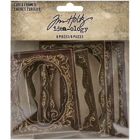 Tim Holtz IIdea-Ology Curio Frames, 6 kpl