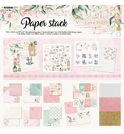 Studio Light paperipakkaus Another Love Story, 12