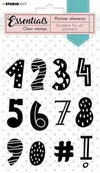Studio Light leimasin Stamp Essentials Numbers