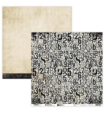 Studio Light skräppipaperi Planner Essentials 25