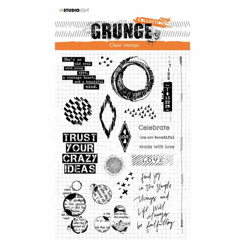 Studio Light leimasin Grunge Collection, Elements
