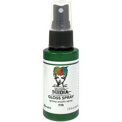 Dina Wakley Media Gloss Spray -suihke, sävy Fir, 56 ml