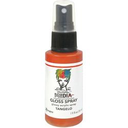 Dina Wakley Media Gloss Spray -suihke, sävy Tangelo, 56 ml