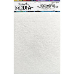 Dina Wakley Media Heavyweight Watercolor -paperipakkaus, 7.5