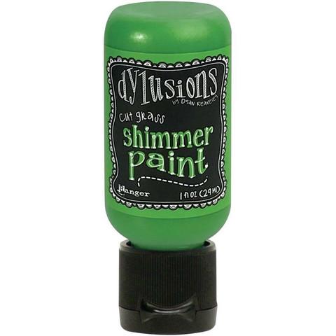 Dylusions Shimmer Paint -akryylimaali, sävy Cut Grass